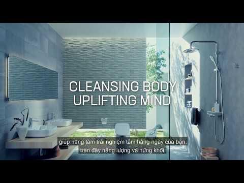 Công nghệ sen tắm INAX Aqua Power