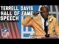 Terrell Davis' Hall of Fame Speech | 2017 Pro Football Hall of Fame | NFL