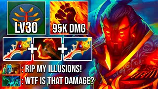 100% BRUTAL PSYSICAL EMBER SPIRIT Crazy Dodge Deleted PL & OD in One Go DotA 2