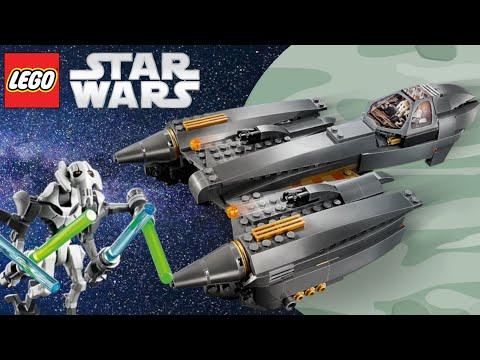 Vidéo LEGO Star Wars 75286 : Le chasseur stellaire du Général Grievous