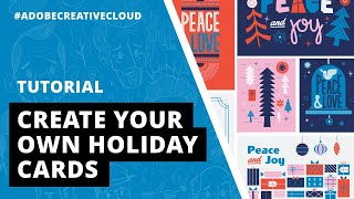 Tutorial   How to Create Your Own Holiday Cards with Adobe Creative Cloud