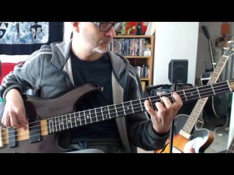 Ian Dury - Sex & Drugs & Rock & Roll (Bass Cover / Play Along) Mp3