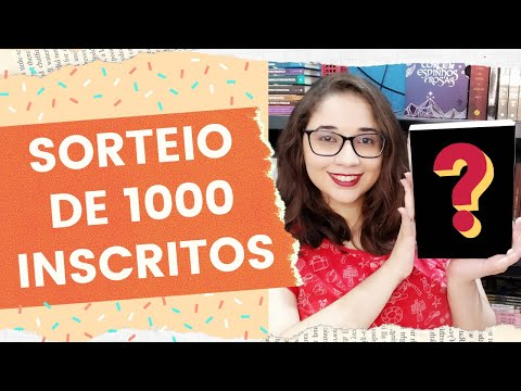 SORTEIO DE 1000 INSCRITOS ? | Biblioteca da Rô