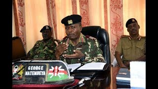 Rift Valley Regional Commissioner George Natembeya: Day-1 of curfew is peaceful