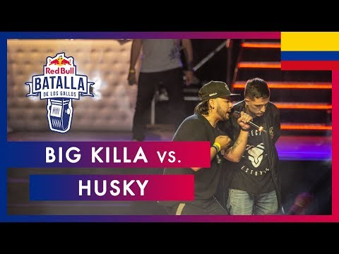 BIG KILLA vs HUSKY - Semifinal | Final Nacional Colombia 2019