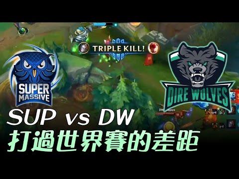 SUP vs DW   (土耳其對大洋洲)  貓頭鷹好猛