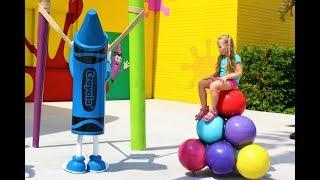 Crayola центр! Крайoло самый большой центр развлечений. Crayola Experience