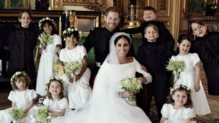 Mini-Superstars Steal the Show in Royal Wedding Photos - Video Youtube