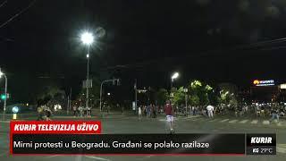 PROTESTI VEČERAS U BEOGRADU (KURIR TV UŽIVO)