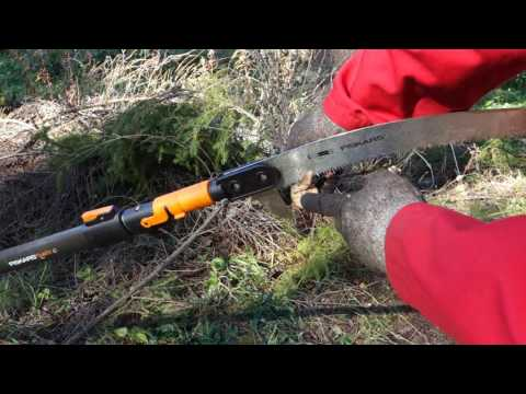 Product review and test Fiskars twig saw