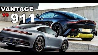 2019 Porsche 911 Vs Aston Martin Vantage