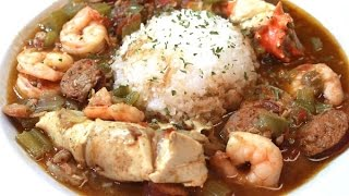 Best EVER Gumbo Recipe - Seafood, Chicken, And Sausage - I Heart Recipes