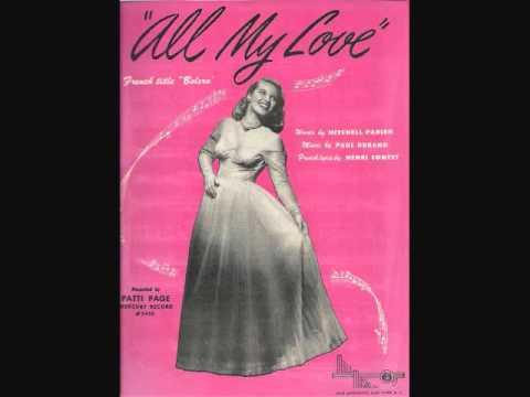 All My Love [Bolero] cover