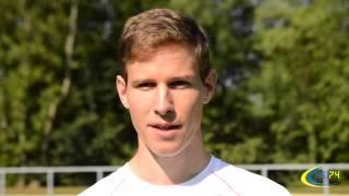 preview picture of video 'GUILLAUME ADAM - Equipe de France Athlétisme 1500m - ASJ74'
