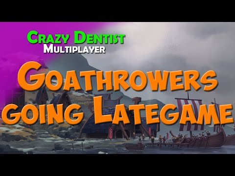 Goathrowers going Lategame | Goat clan in FFA | Northgard