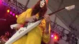"Video thumbnail of ""Buckethead with Claypool Bernie Worrell and Brain"""