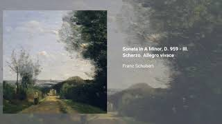 Piano Sonata no. 20 in A, D. 959
