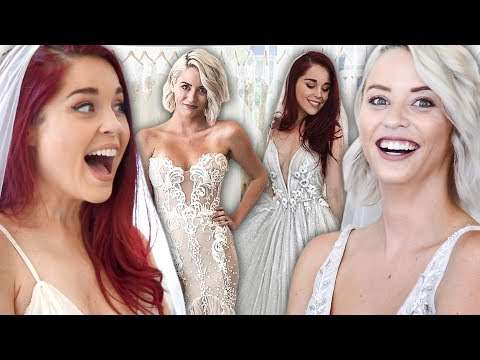 Shopping for Our Dream Wedding Dress (Beauty Trippin)