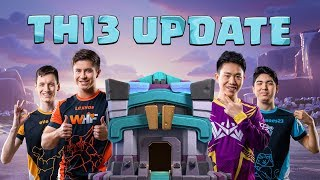 First Ever Town Hall 13 Update Live Stream Clash of Clans