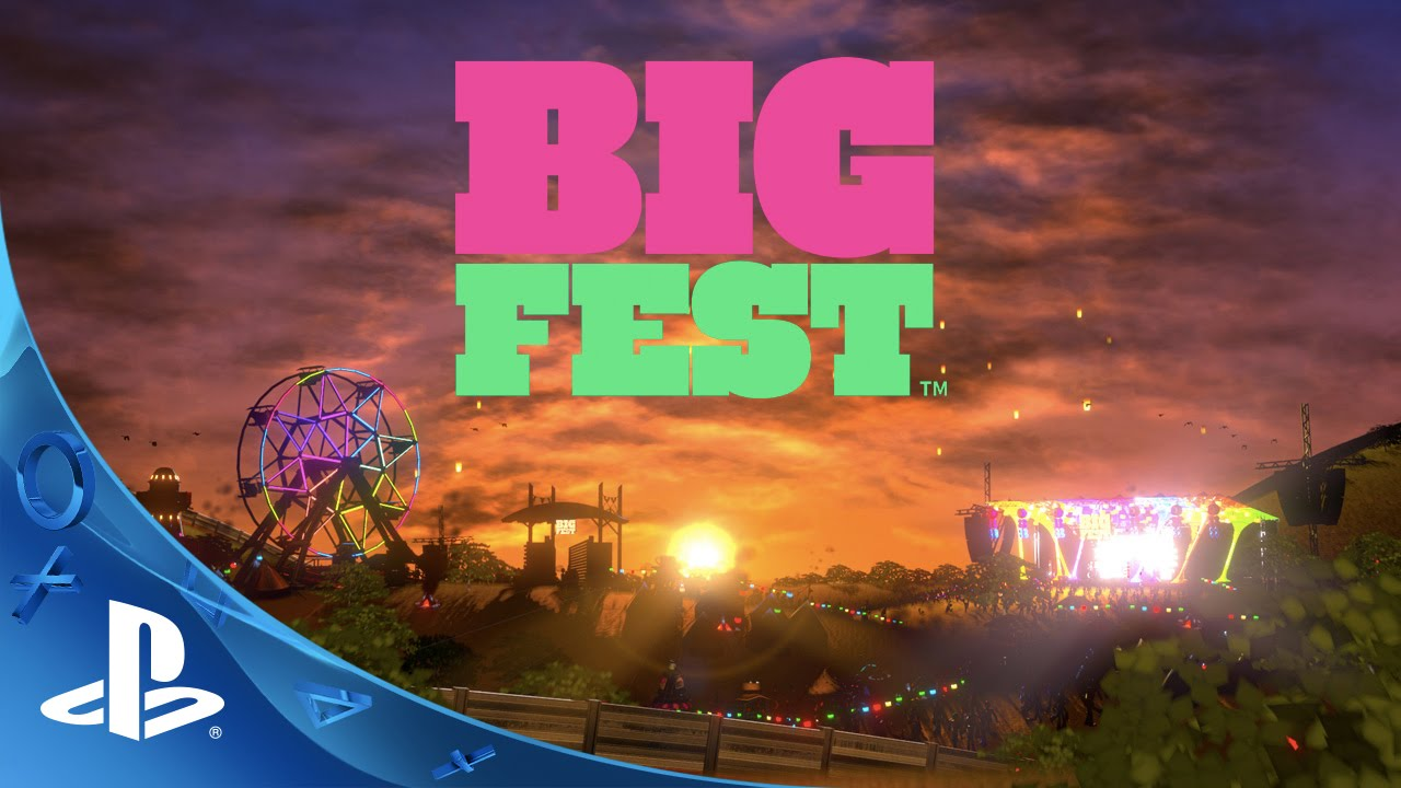 Simulador de Festival de Música BigFest Chega Hoje ao PS Vita