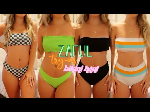 $250 ZAFUL TRY-ON BIKINI HAUL | worth the hype? *honest review*