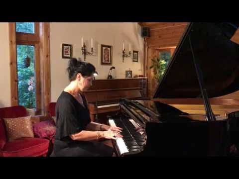 """Nordic Summer Night"" by Ulrika A. Rosén, piano."