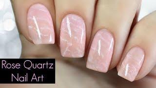 HOW TO: Rose Quartz Nail Art Tutorial [Regular Nail Polish]