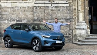 I Drive The Electric-Only Volvo C40 Recharge For The First Time!