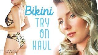 BIKINI TRY ON HAUL   6 *NEW* Mavele.com Bikinis