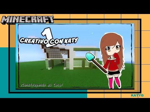 CONSTRUYO MI CASA | Creativo con Katy #Parte1 | Katy Gameplays