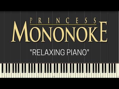 Princess Mononoke Relaxing Piano Synthesia Tedescocreations