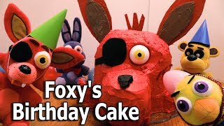 FNAF Plush Episode 113 - Foxys Birthday Cake