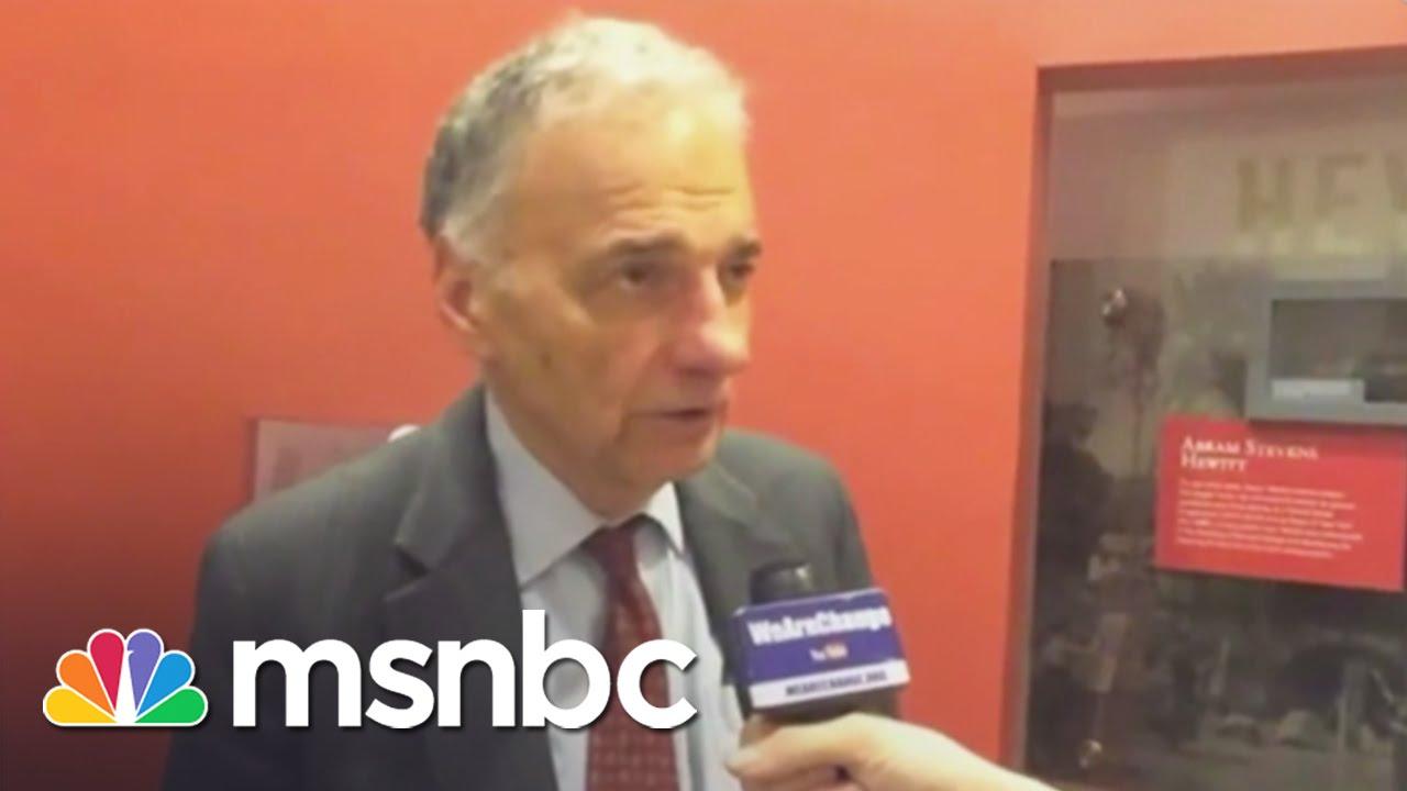 Ralph Nader: Hillary Clinton 'Menace' To US   Hardball   MSNBC thumbnail
