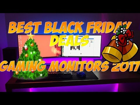 BLACK FRIDAY SHOPPING - BEST BLACK FRIDAY DEAL FOR GAMING MONITORS IN 2017