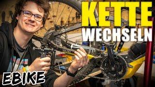 Fahrradkette tauschen/wechseln und Kettenlänge ermitteln