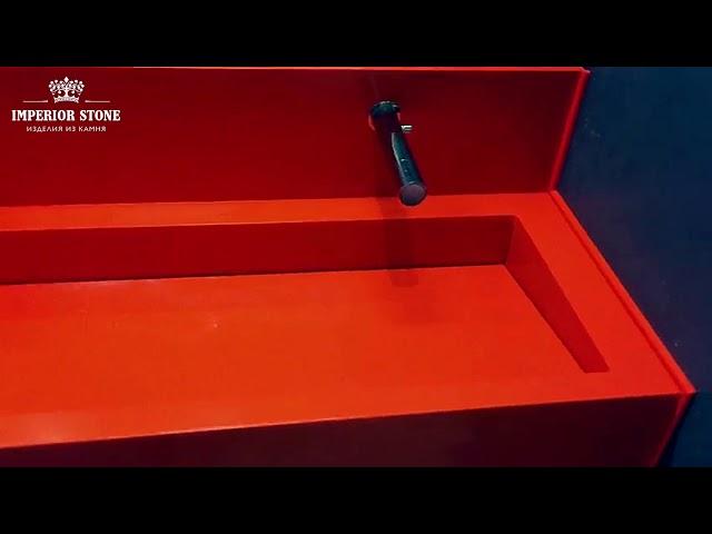 Мойки из кварцевого агломерата Samsung Radianz Cyprus Orange CO420