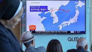 Coreia do Sul e Japão reagem à Coreia do Norte