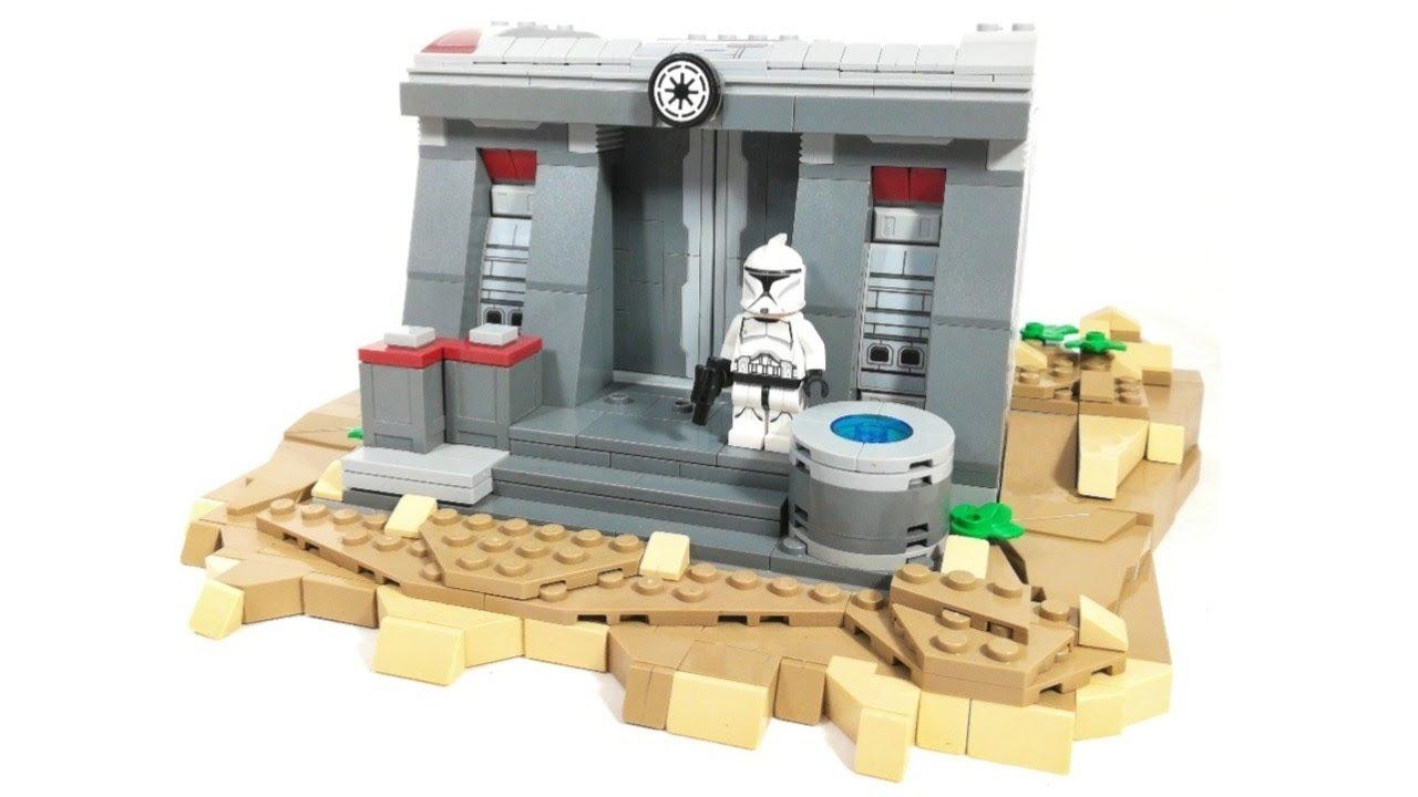 LEGO Star Wars Clone Base MOC