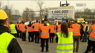 preview picture of video '1.000.000 Entladung eines Innofreight Containers Steiermark heute 12.3.2010'
