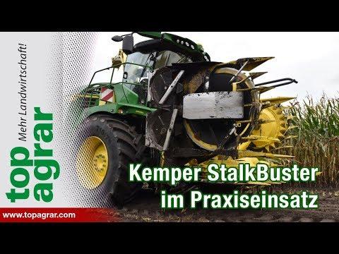 Kemper StalkBuster im Praxiseinsatz: Agritechnica-Gold für die Stoppelzerkleinerung