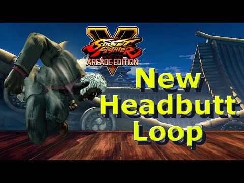 SFV AE - Urien New Headbutt Loop On Back Roll