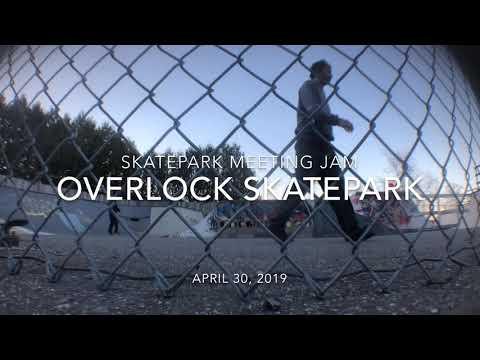 Skatepark Meeting Jam - Overlock Skatepark - Belfast Maine