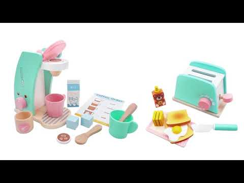 Wooden Pop-Up Toaster Play Set