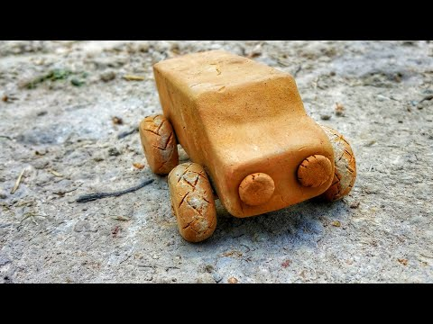 How to Make Clay Car at Home that Easy