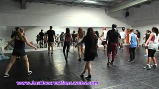 Justice Crew Workshop For Best Night Winners Dance Lesson