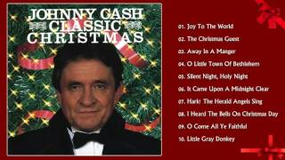 Classic Christmas Johnny Cash   Christmas Songs Greatest Hits
