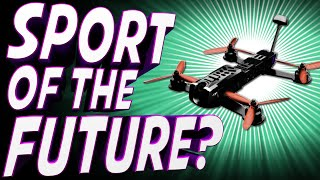 ETC Archive: Is DRONE RACING the Sport of the Future? - TechNewsDay фото