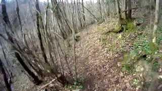 preview picture of video 'Single track Gradoli e Grotte di Castro'