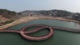 DJI FPV Drone Maiden Voyage - Eunpa Lake - Gunsan, South Korea - 14Mar2021