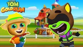 ТОМ ЗА ЗОЛОТОМ #23 АНДЖЕЛА ДРУЗЬЯ Бен Хэнк New Talking Tom Gold Run игровой мультик для детей
